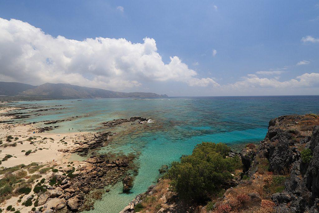 Point de vue depuis Elafonissi