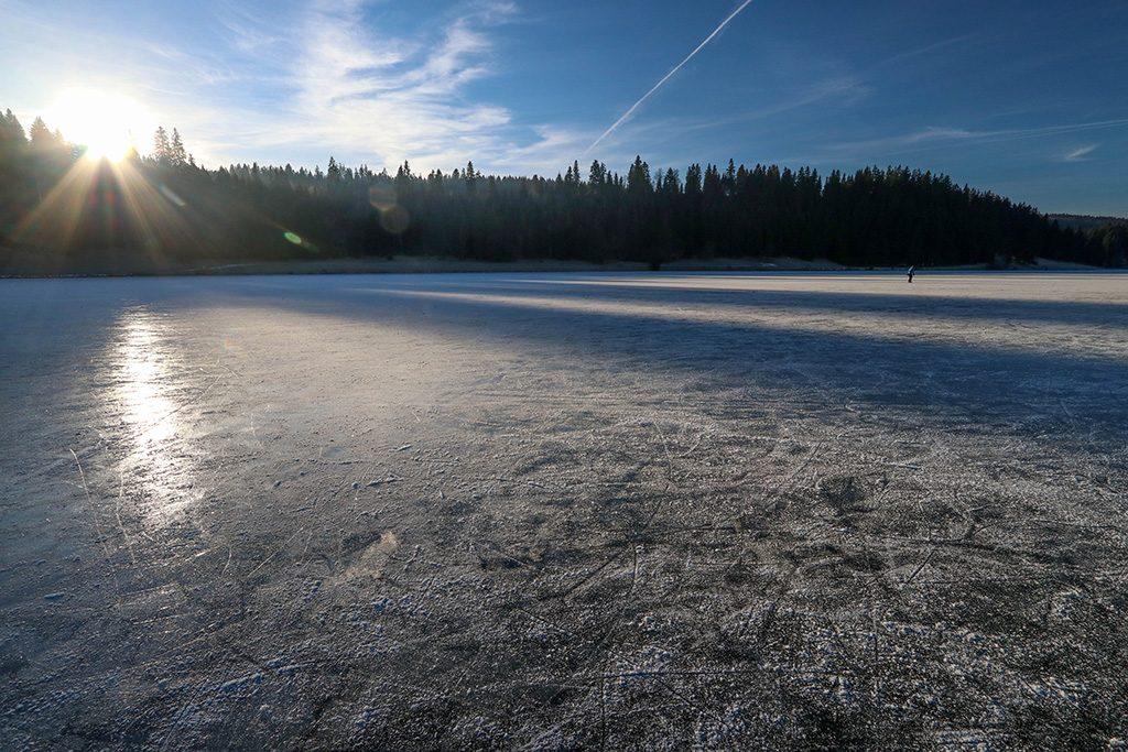 Lac gelée Brévine