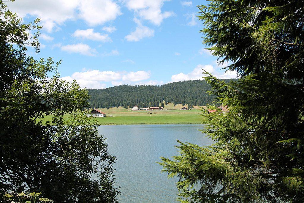 Lac de la brévine suisse