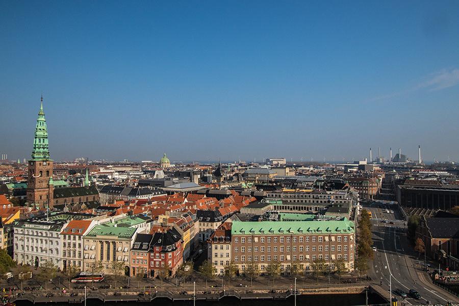 Palais Christiansborg - view
