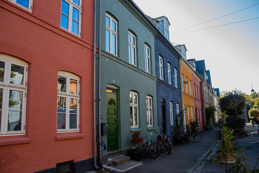 Maison colorée - Osterbro