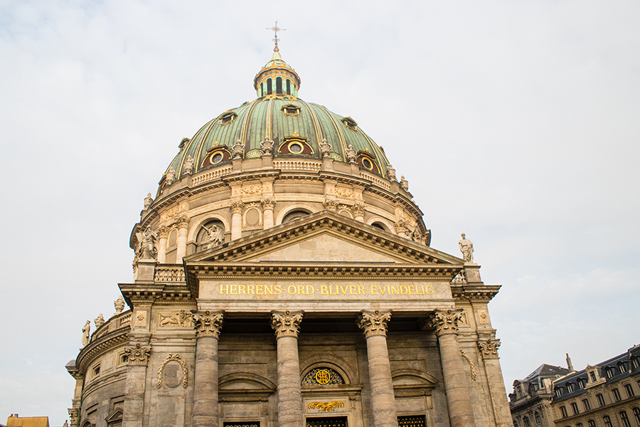 Marmorkirken, Eglise de Marbre - Copenhague