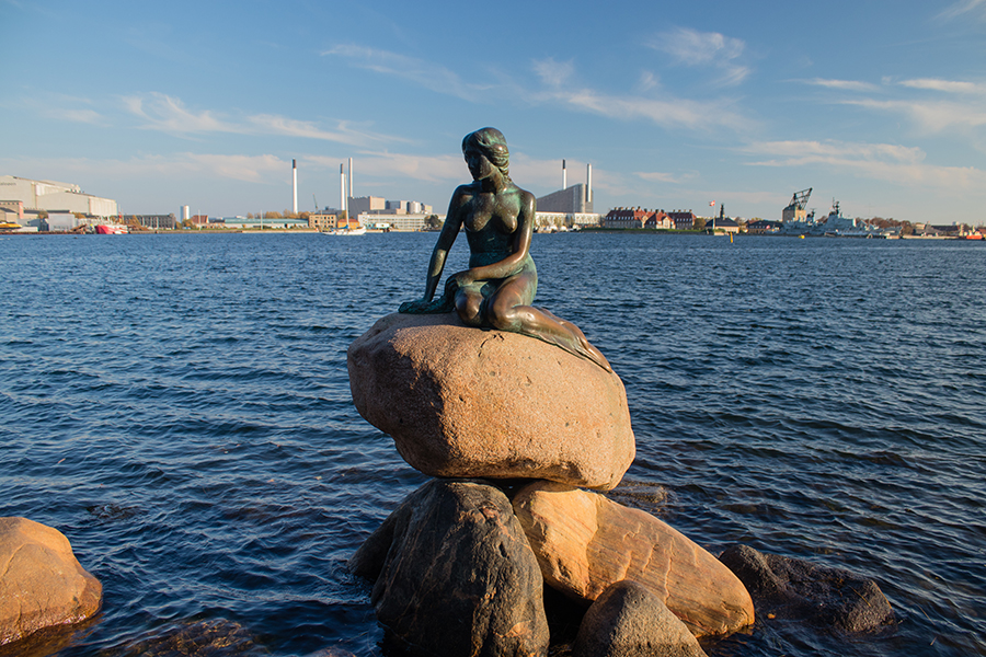 Statue of the Little Mermaid - Copenhague