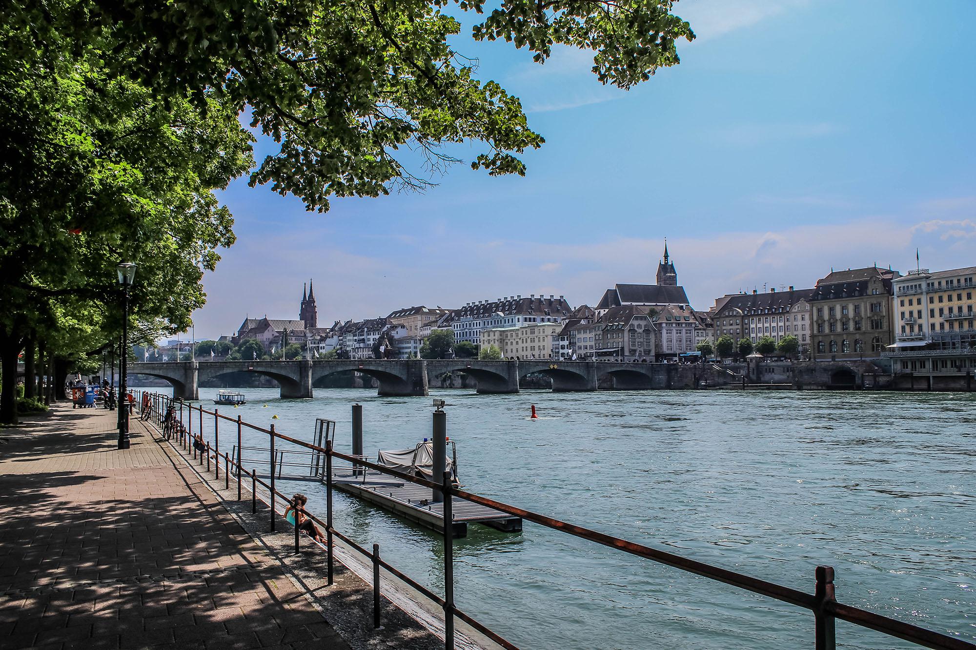 Bâle et le rhin - Basel, Suisse - Marie Naudon