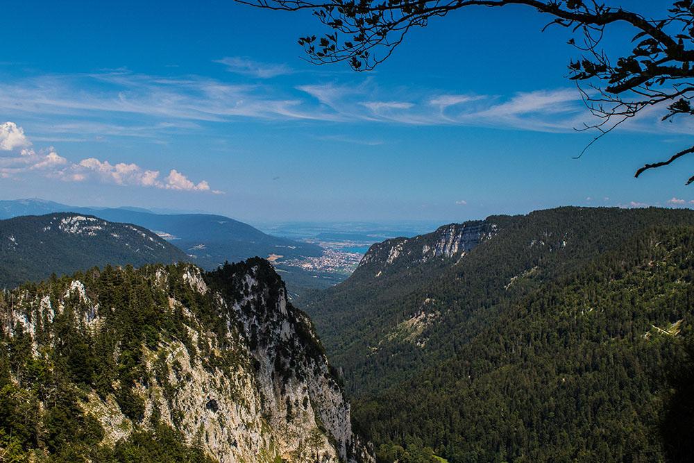 Vu depuis Creux du Van - Suisse - Marie Naudon
