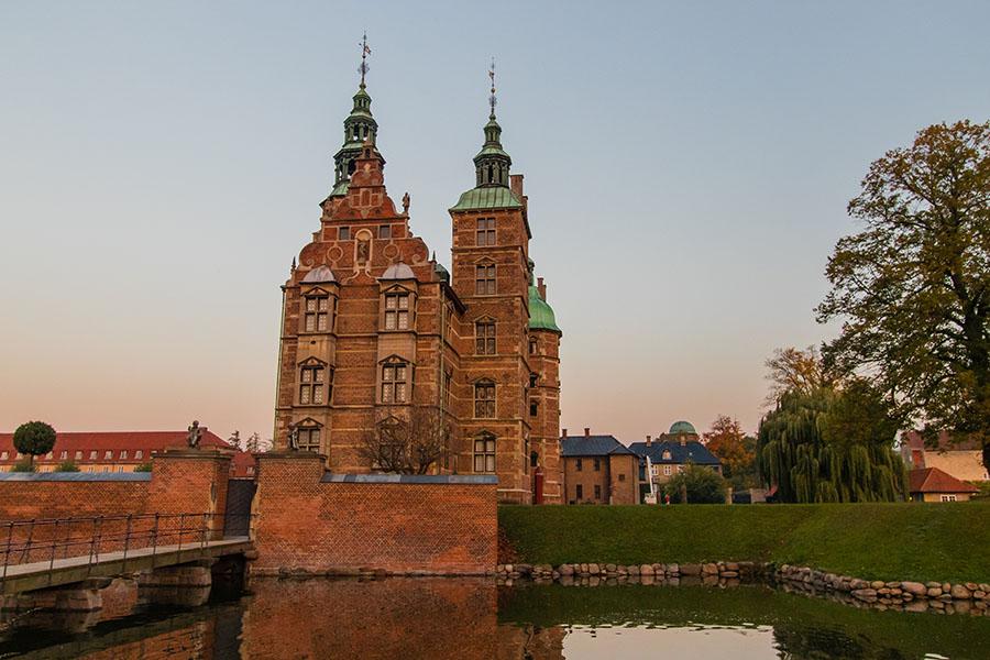 Rosenborg Castle - Kongens Have - Copenhague en Automne