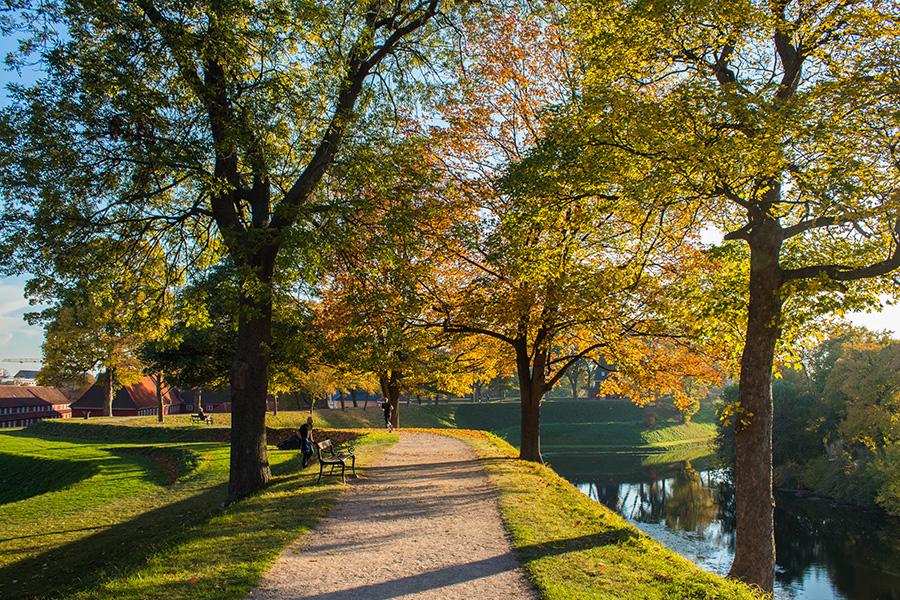 Copenhague sous les couleurs de l'automne - Kastellet