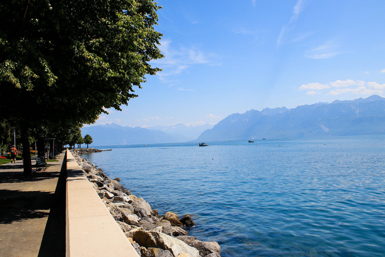 Promenade au bord du lac Lémand - Lausanne Ouchy - Marie Naudon