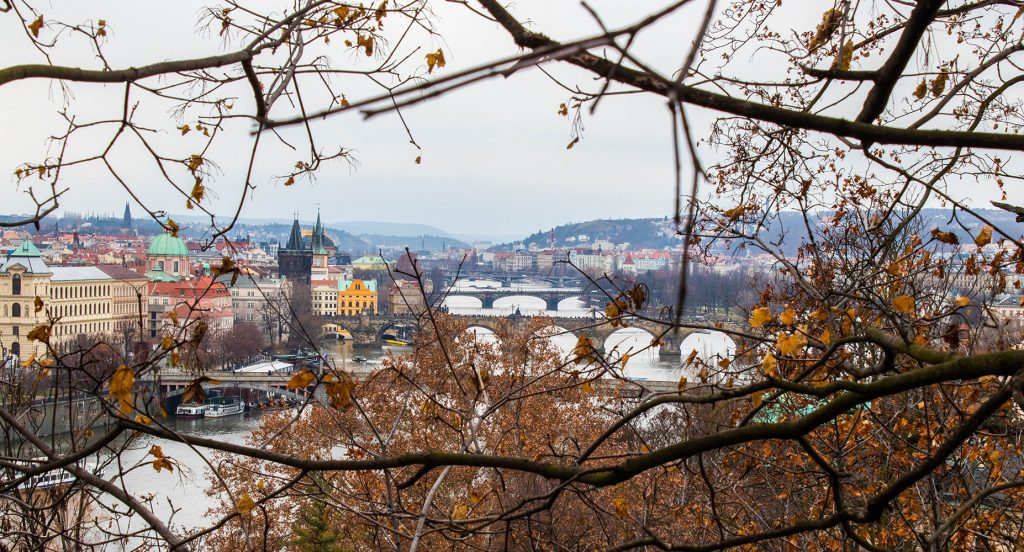 Prague depuis la colline de Letná - Marie Naudon