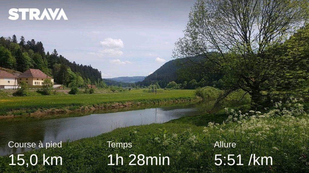 Course à pied/Running, Marie Naudon - Strava, 15 KM