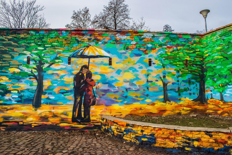 Prague, Street Art - Kampa - Marie Naudon