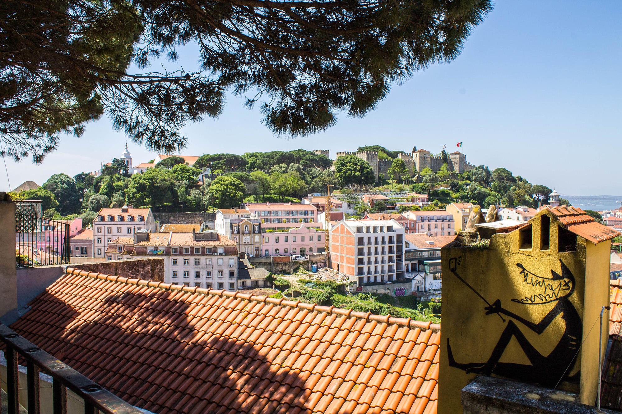 Lisbonne : 10 choses à voir - Vu sur le château de Lisbone - Marie Naudon