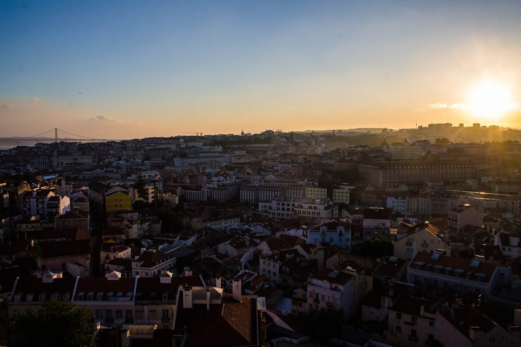 Lisbonne : 10 choses à voir -Sunset, Coucher du soleil - Marie Naudon
