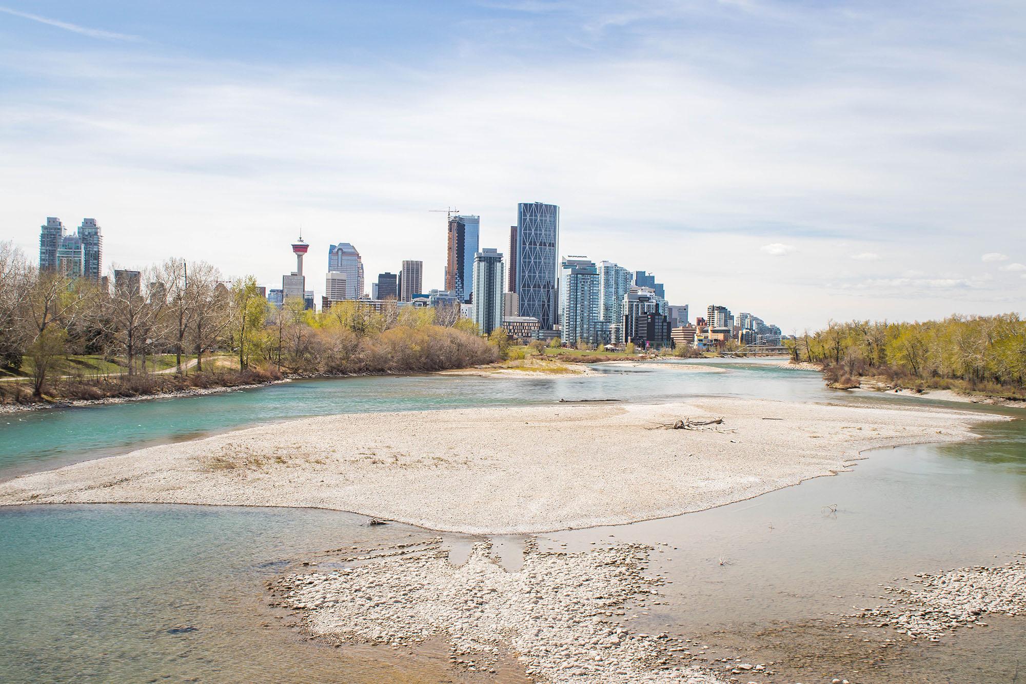 À la découverte de Calgary : Patrick island park
