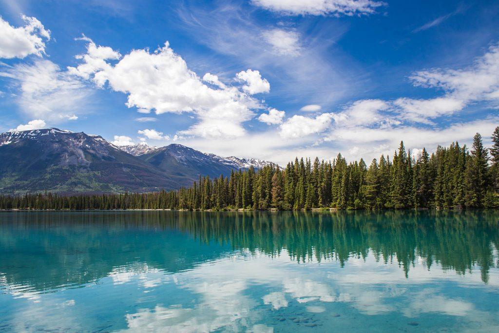 Lac Beauvert, à Jasper - Marie Naudon
