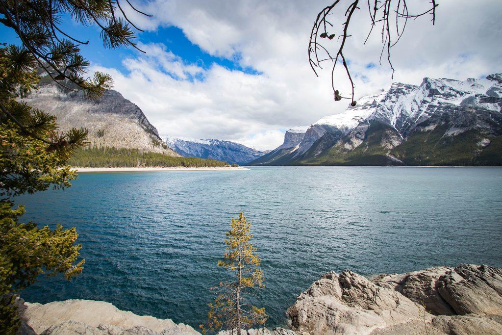 Lac Minnewanka, parc national de Banff - Marie Naudon