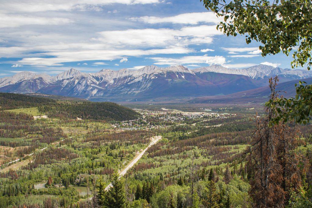 La ville de Jasper, dans les Rocheuses Canadiennes - Marie Naudon