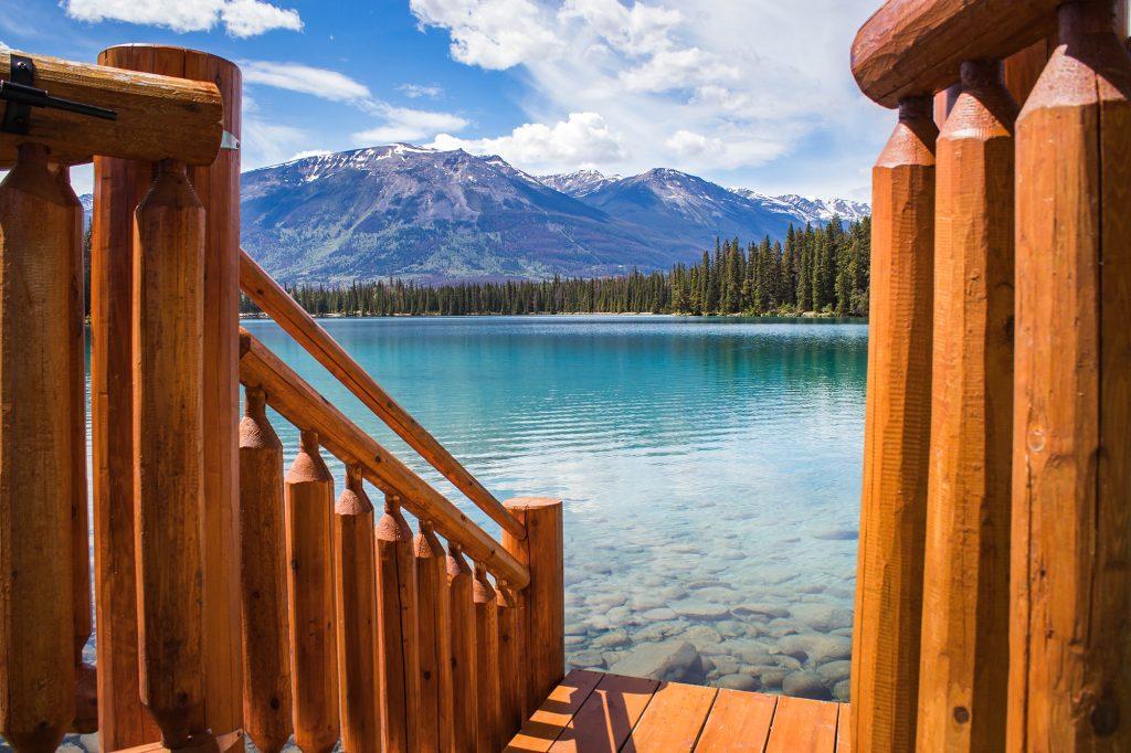 Lac Beauvert, Jasper - Mes premiers pas dans les rocheuses canadiennes