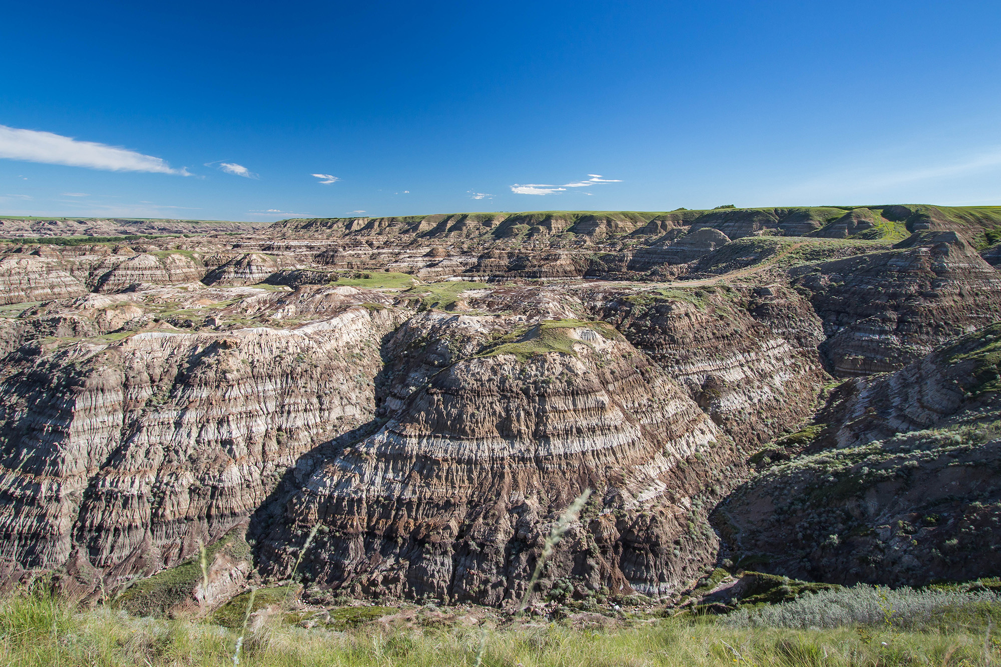 Horseshoe Canyon, les Badlands - Marie Naudon