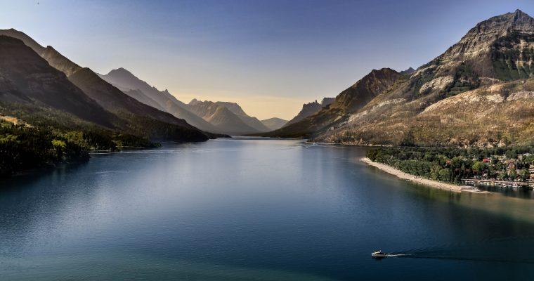 3 jours sportifs au parc national des lacs-Waterton