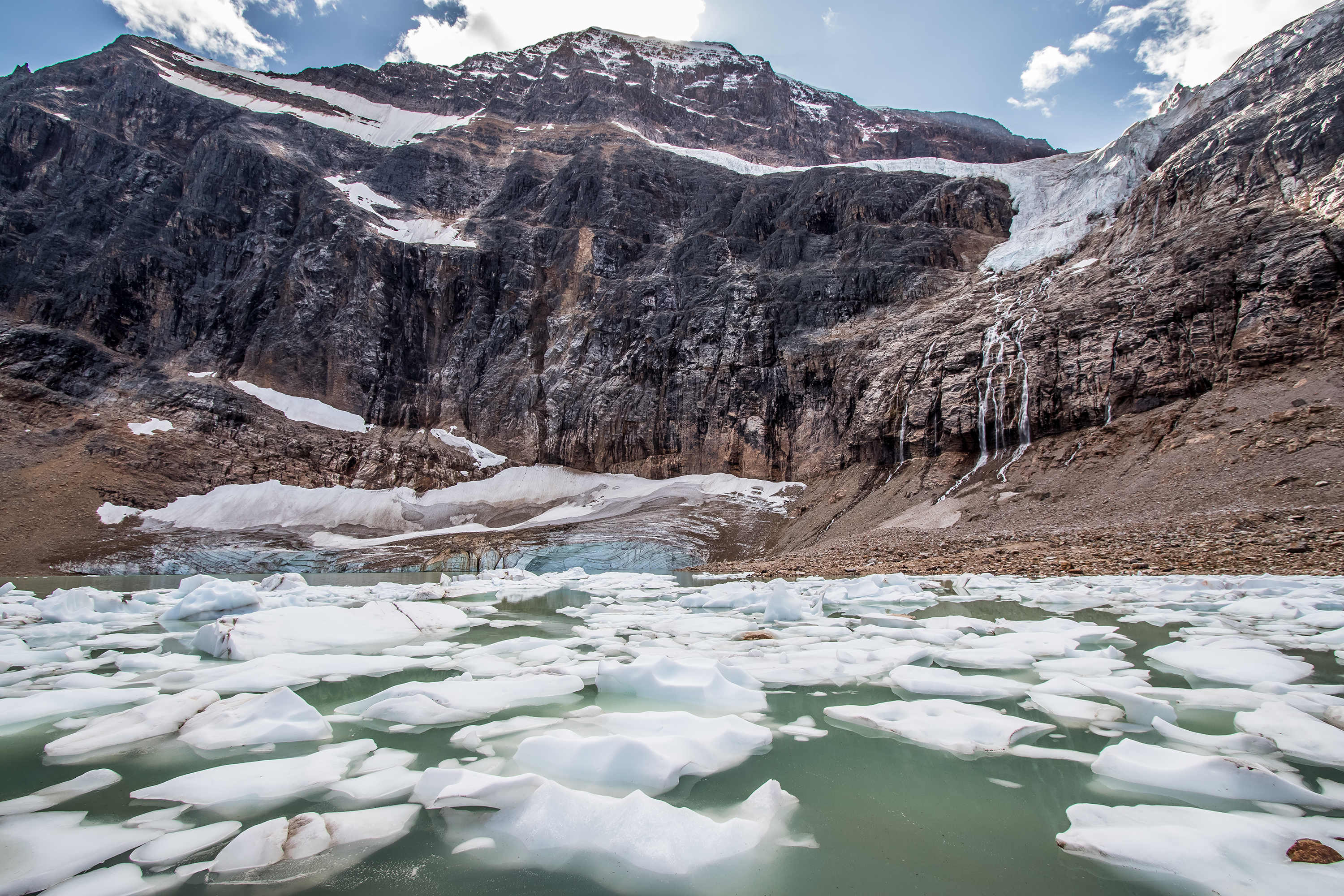 Glacier & Mount Edith Cavell - Marie Naudon