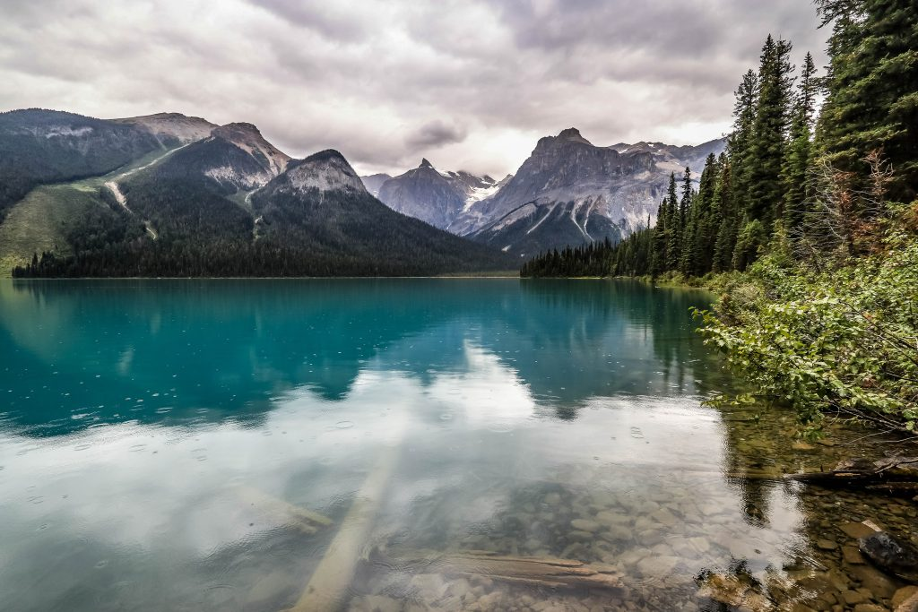 Il pleut - Emerald Lake