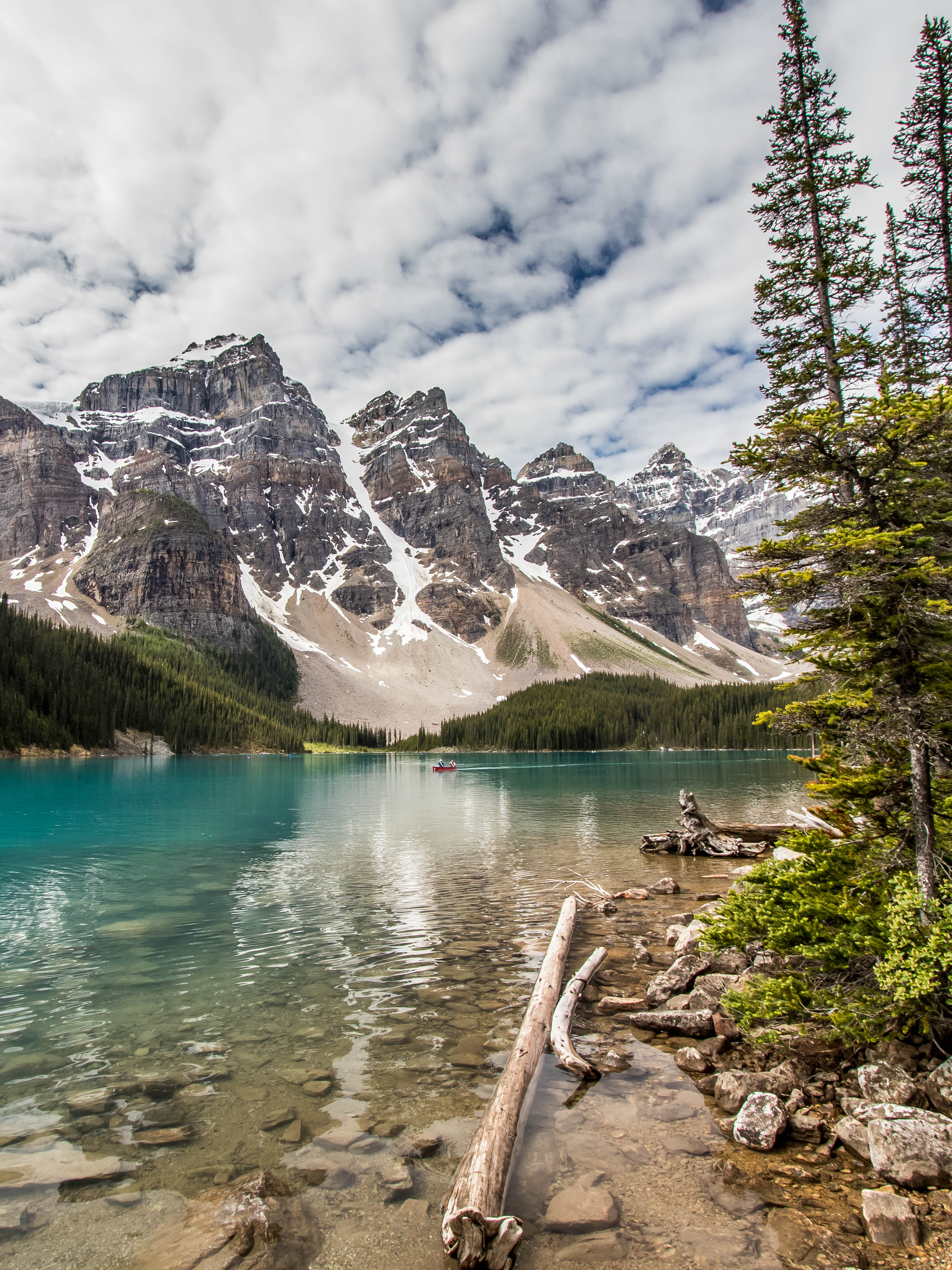 Lac Moraine - Alberta - Marie Naudon