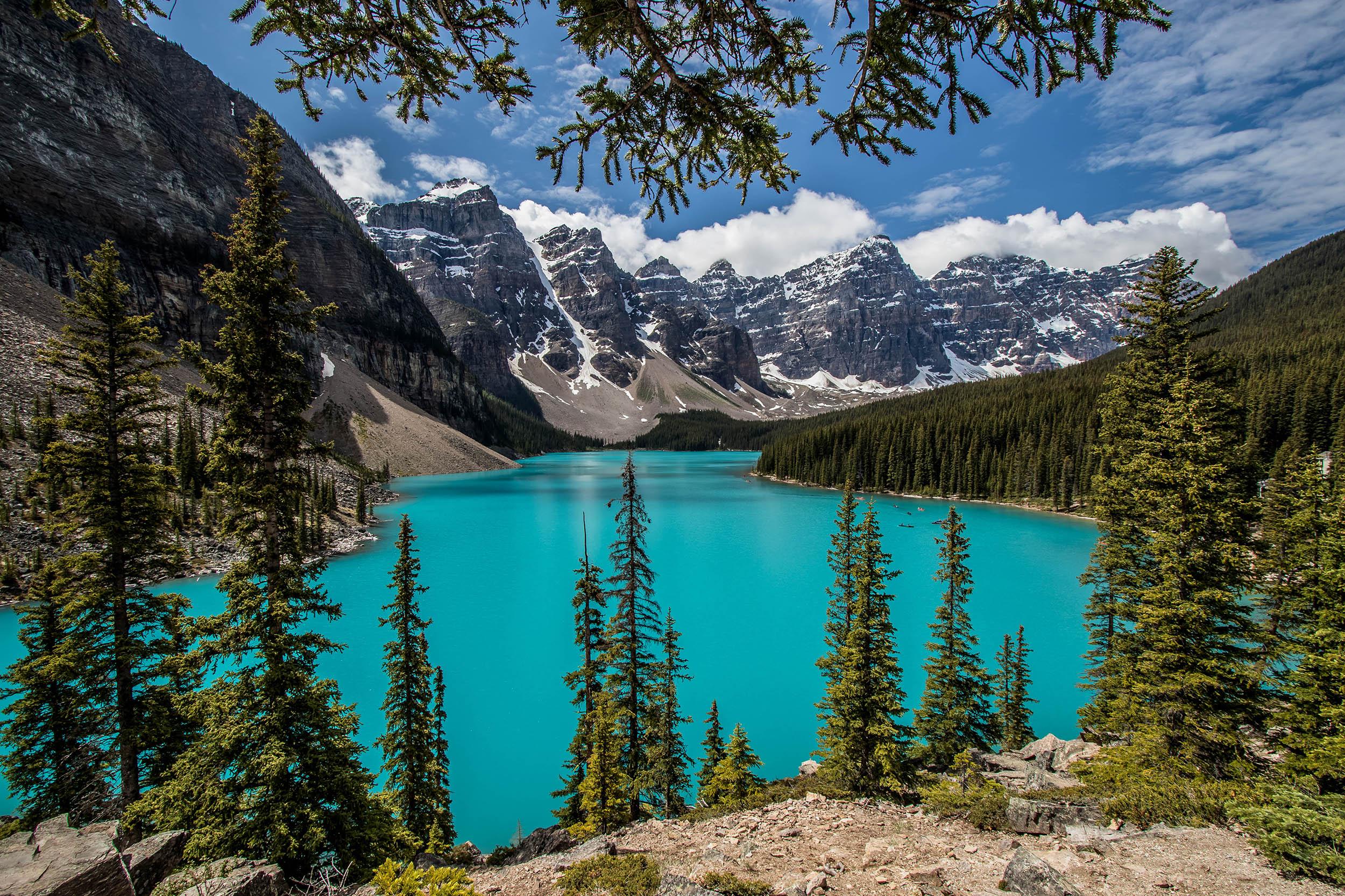 Lac Moraine - Alberta