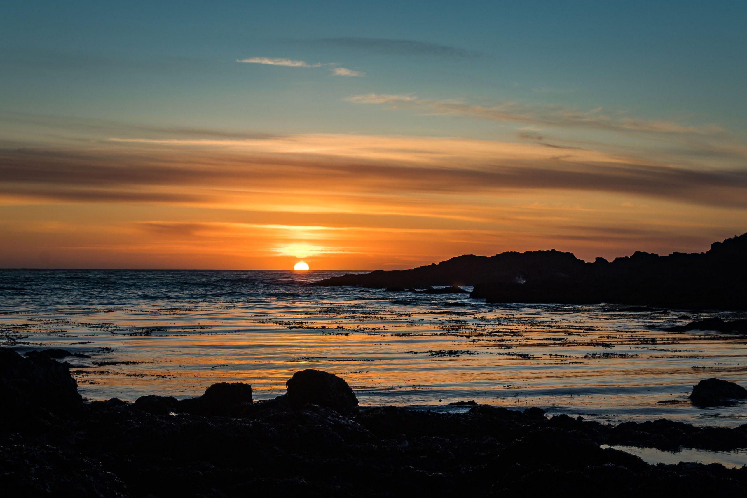 Sunset - Île de Vancouver