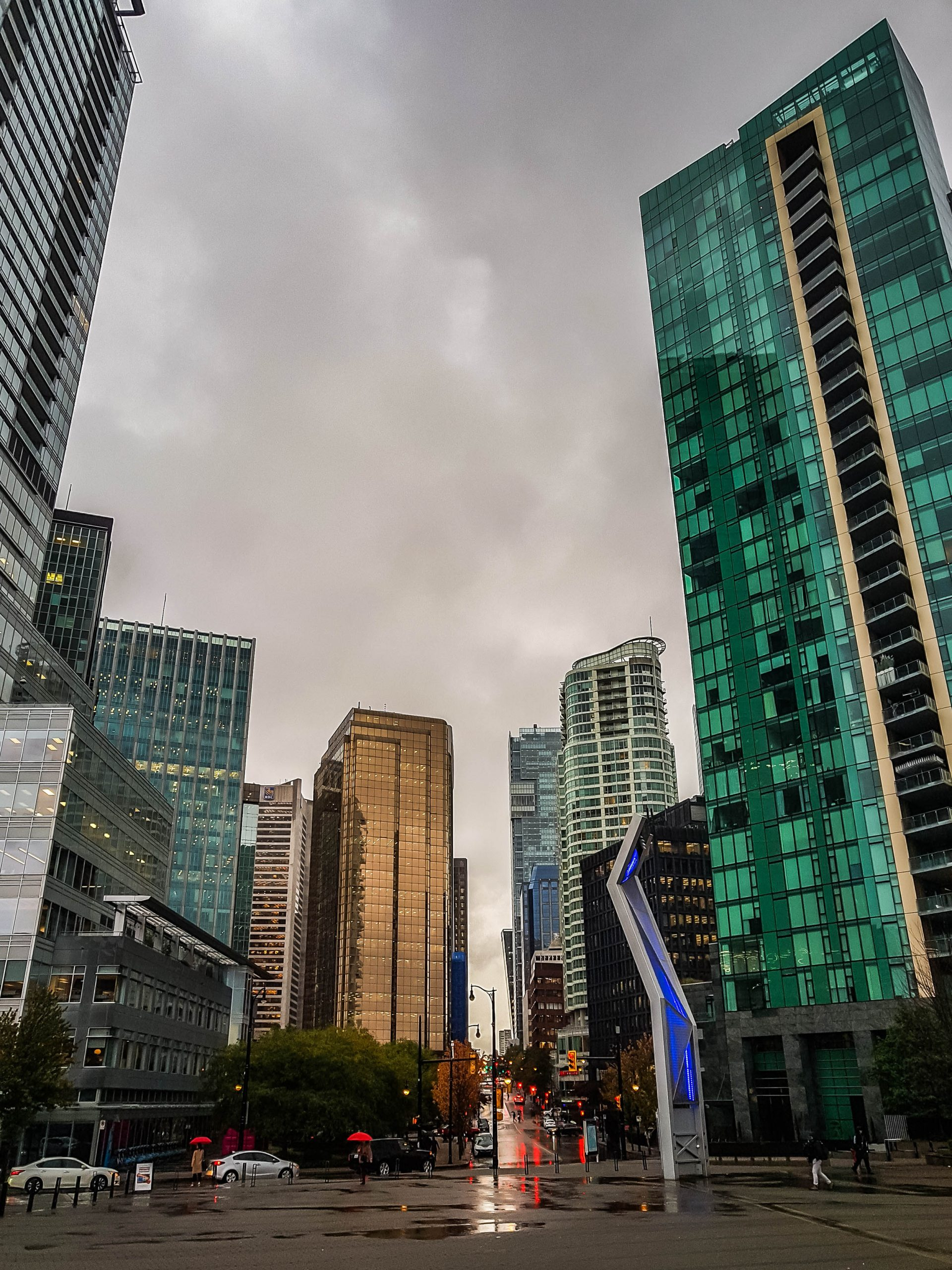 Vancouver - Rain - Road Trip - B.C