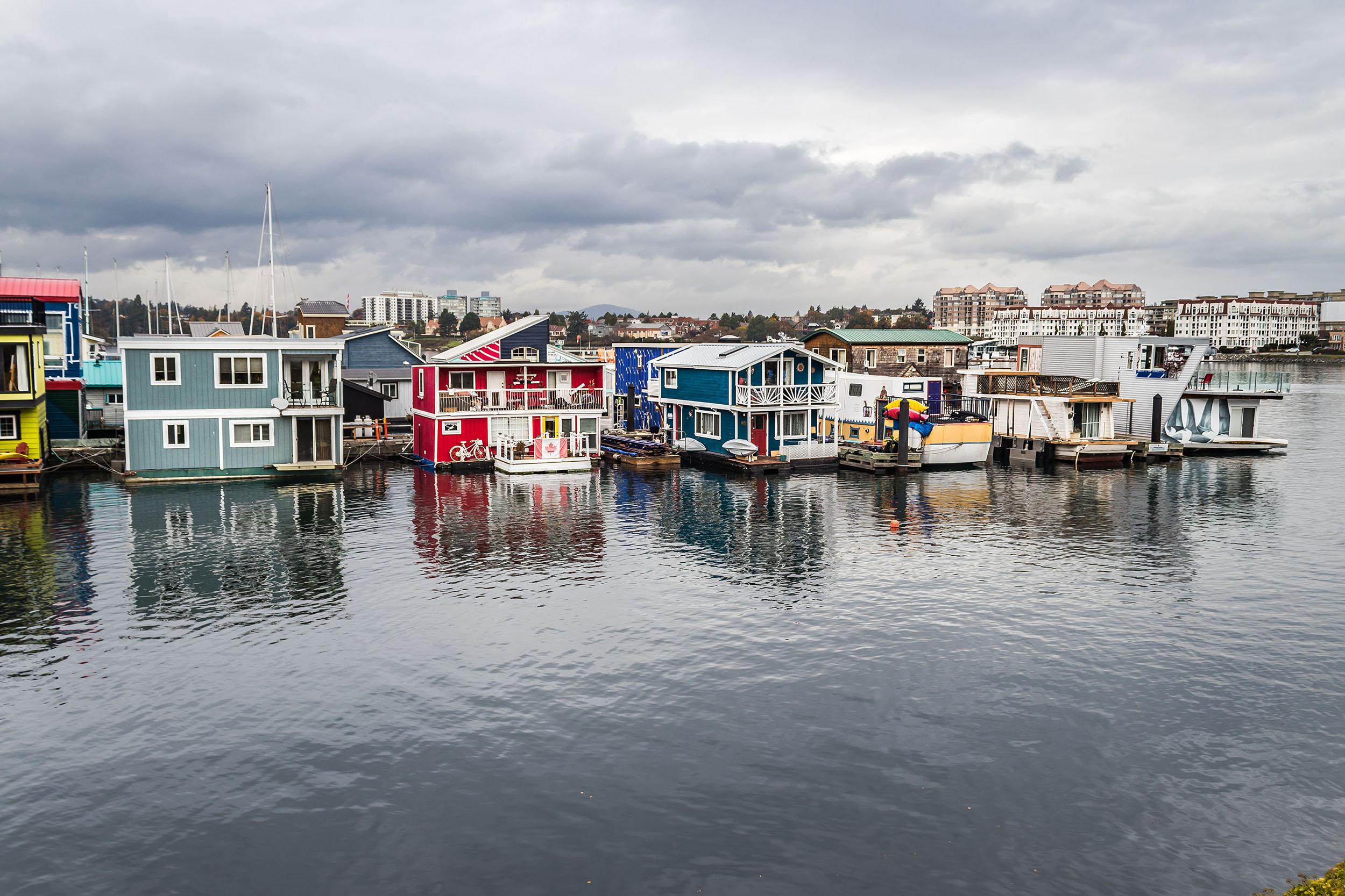Fisherman's Wharf - île de Vancouver