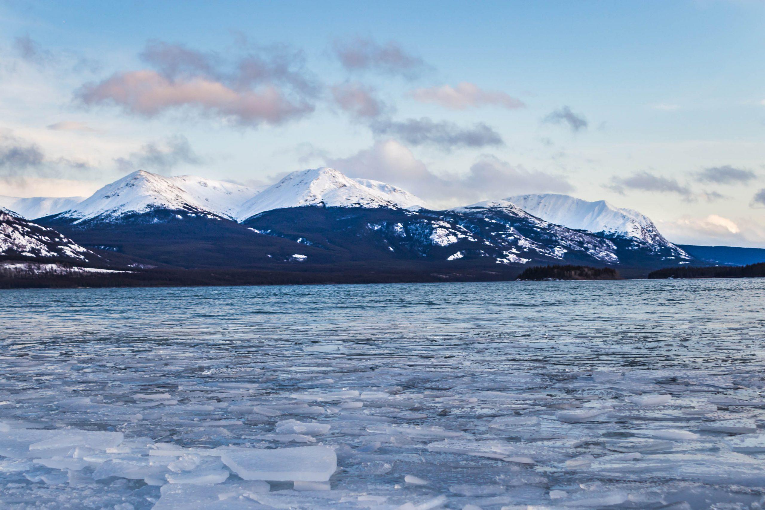 Lac glacé - Marie Naudon - Yukon
