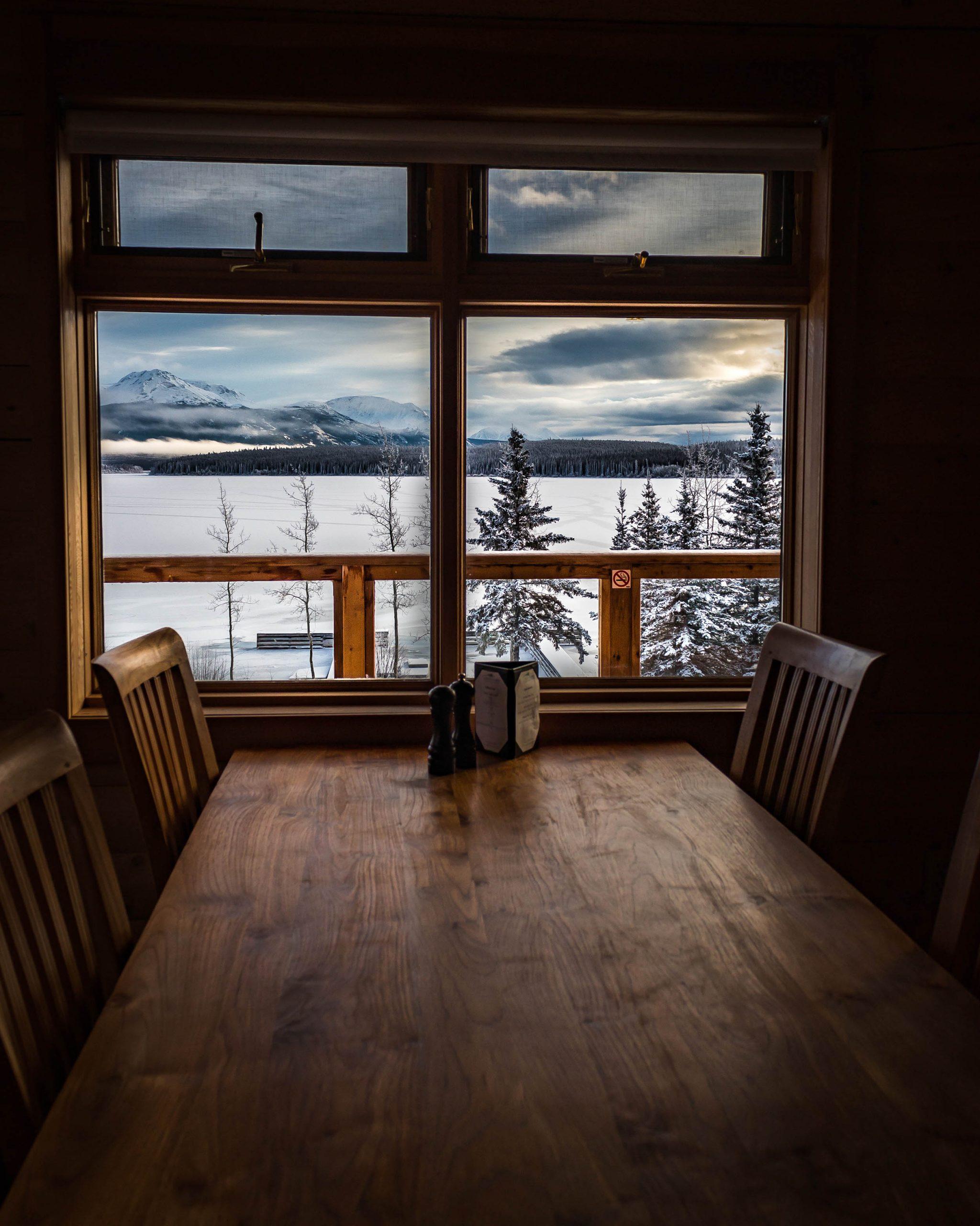 Vue d'un restaurant - Yukon - Marie Naudon
