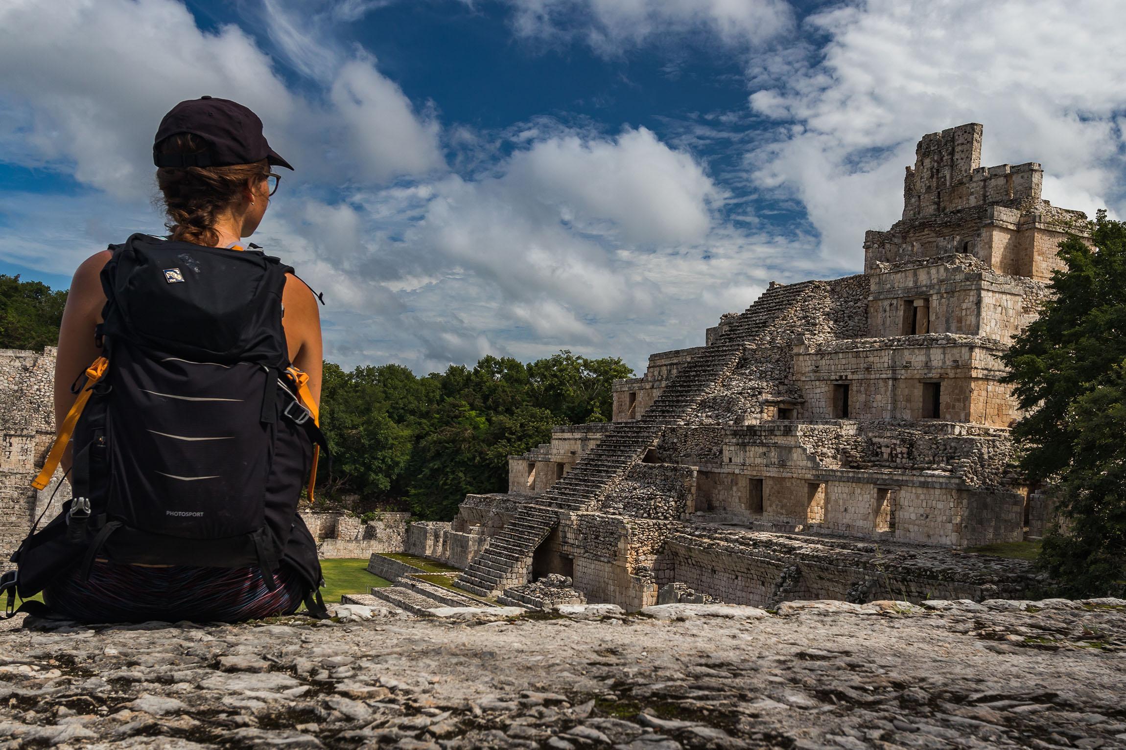 Ruines d'Edzna - Mexique - Campeche - Marie Naudon