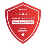 Badge PVTistes Blog awards