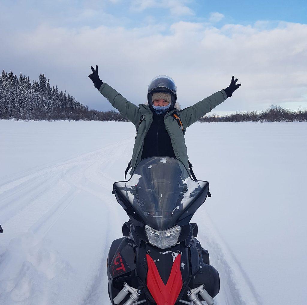 Snowmobile - Marie Naudon - Yukon