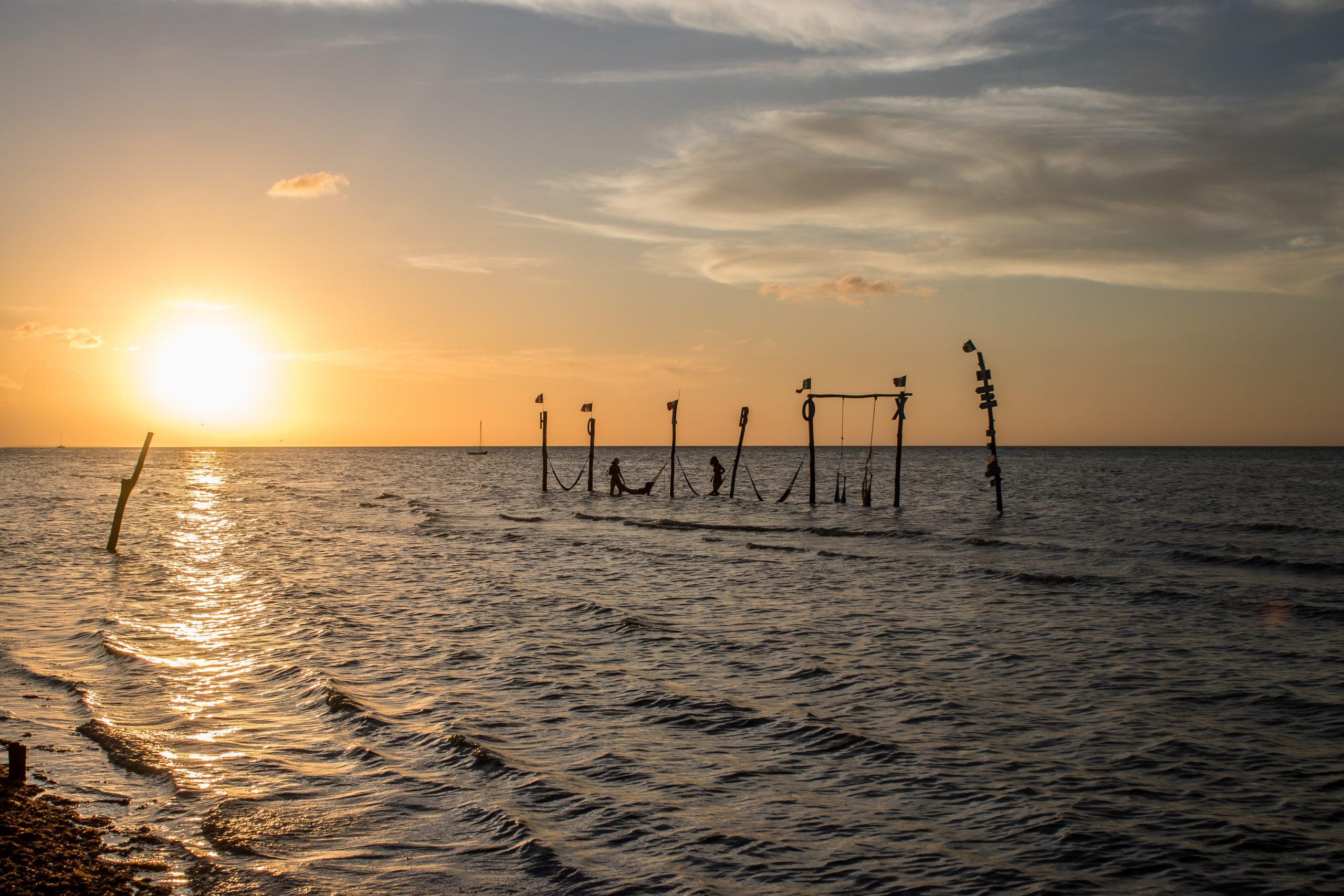 Holbox - Plage Sunset - Yucatan - Mexique