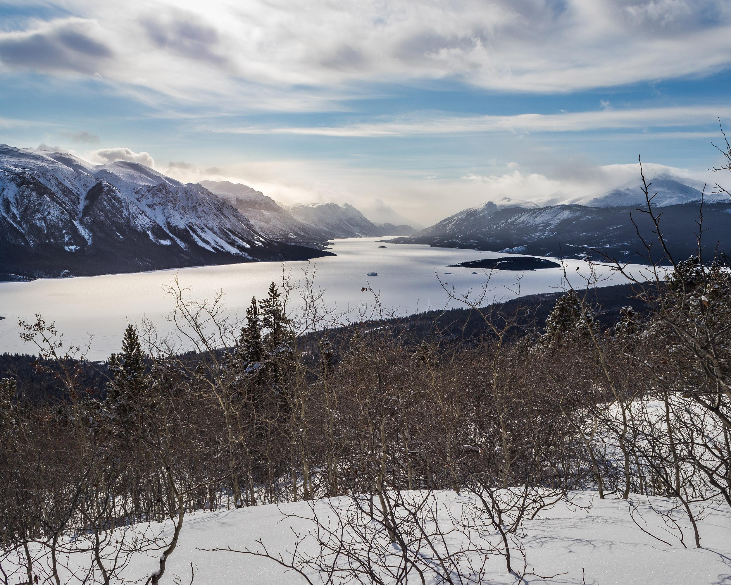 Randonnée en hiver au Yukon - Marie Naudon