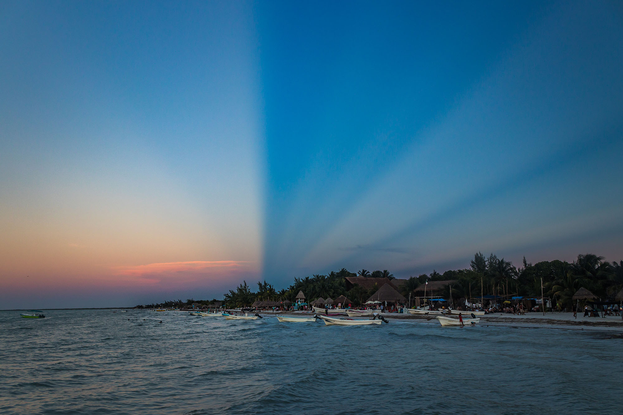 Holbox- Sunset - Yucatan - Mexique