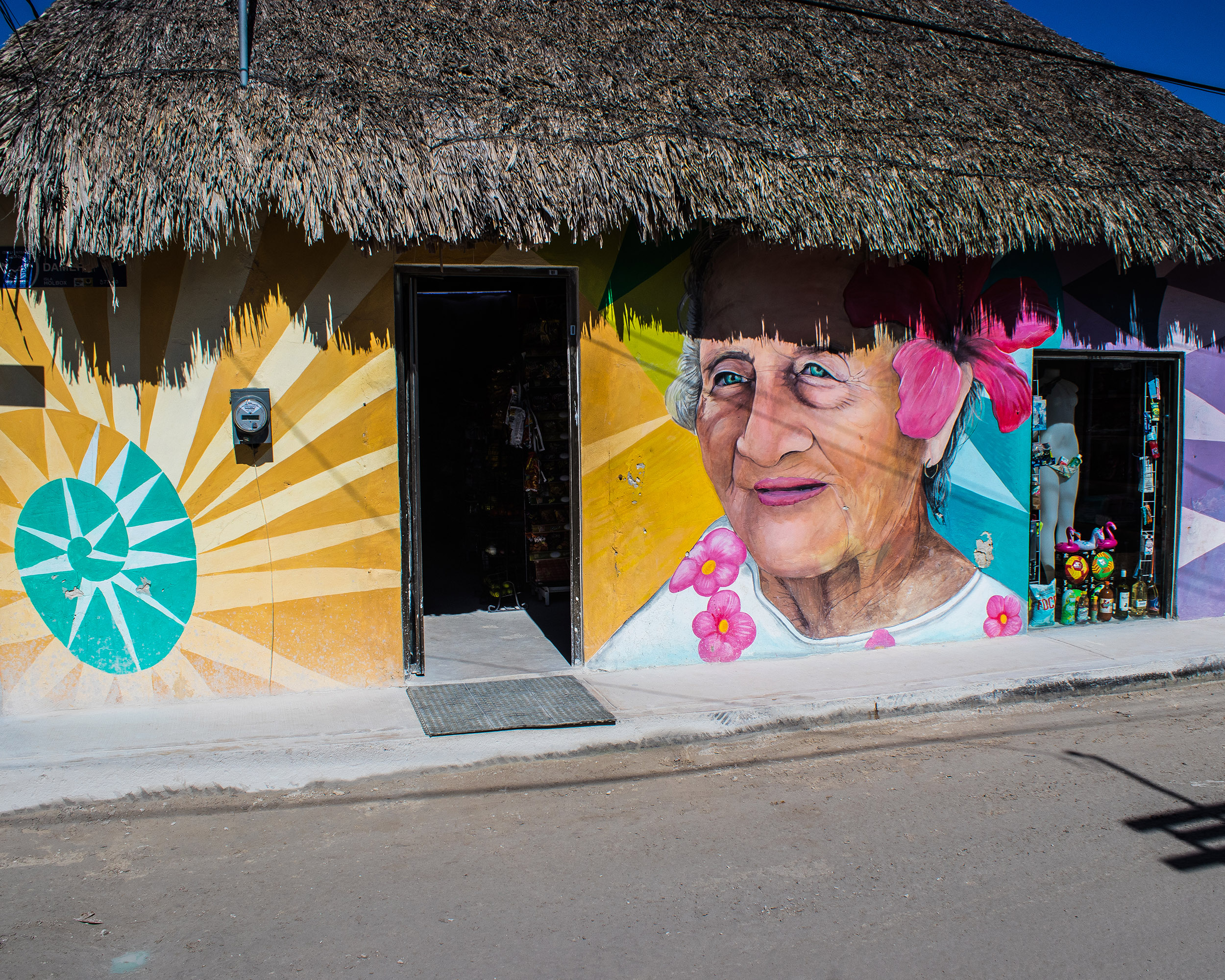 Holbox - Street art - Yucatan - Marie Naudon