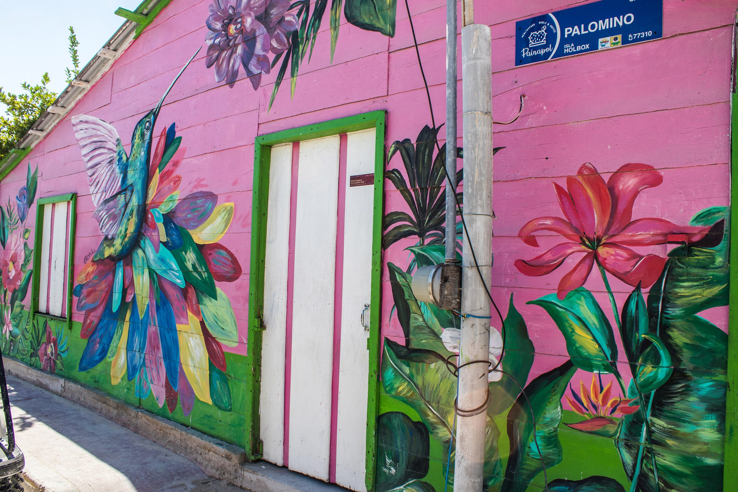 Holbox - Street art - Yucatan - Mexico