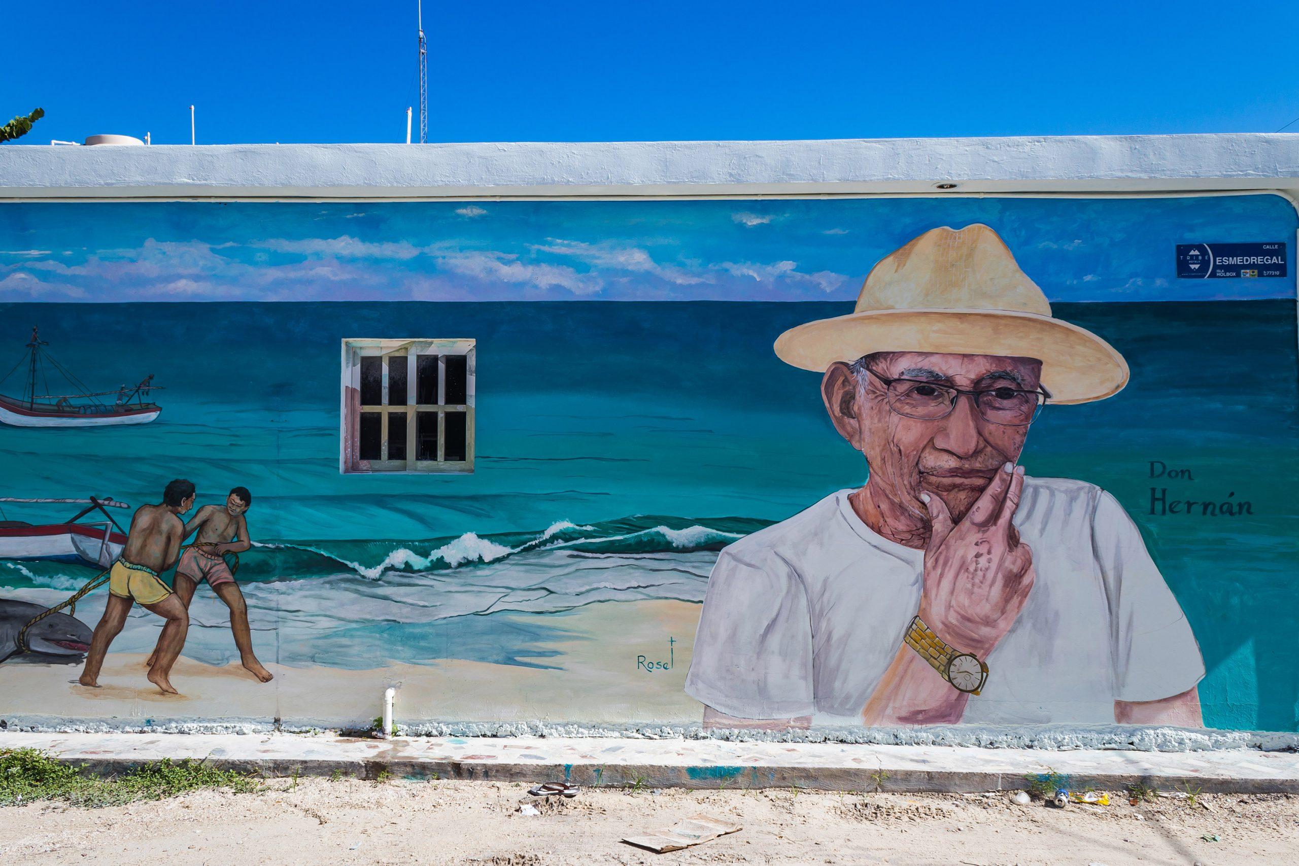 Holbox - Street art - Yucatan