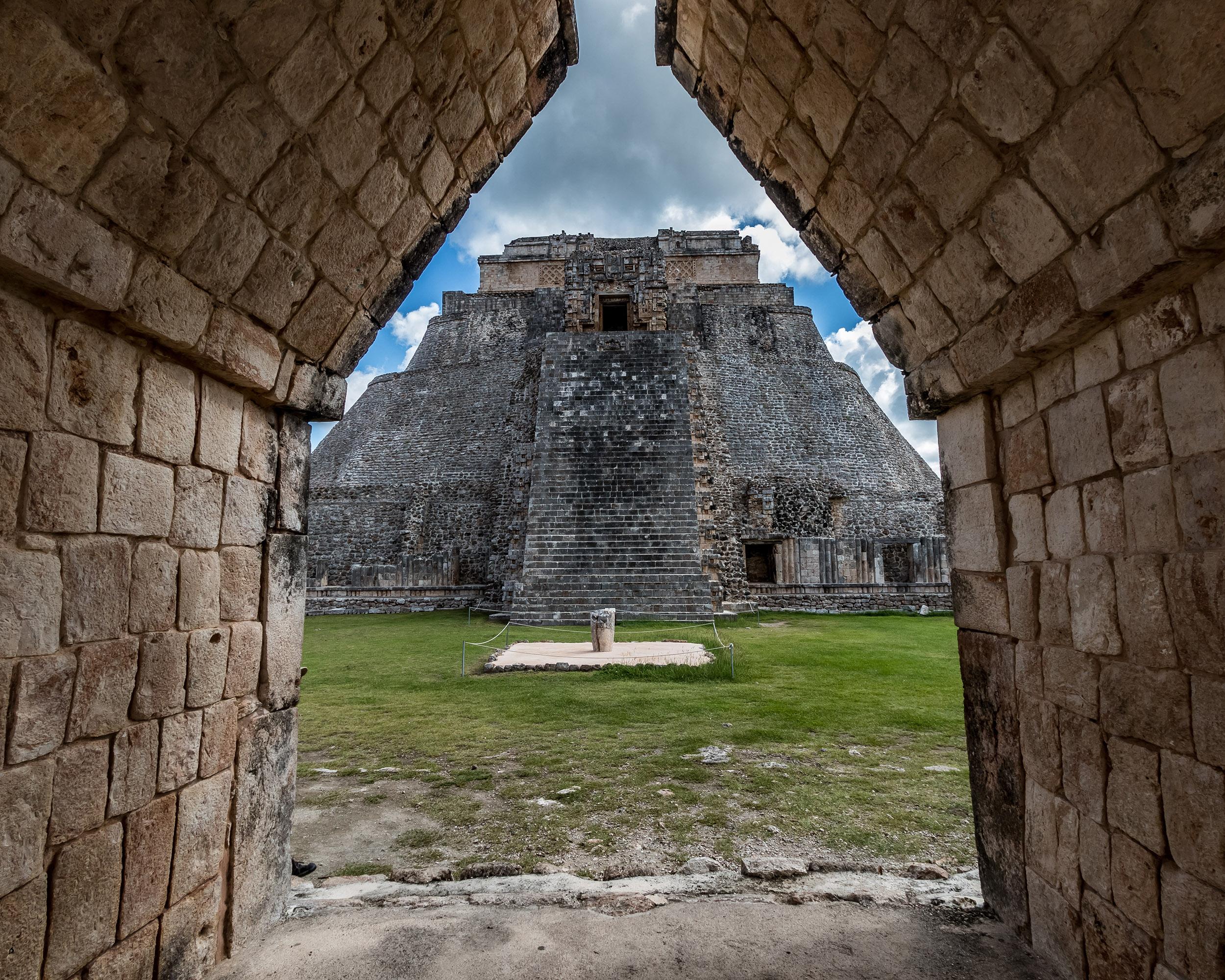 Uxmal - Les ruines et les pyramides - Yucatan